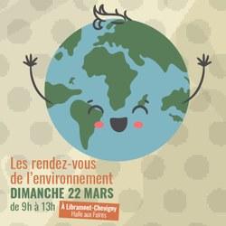 REPORTÉ : Les rendez-vous de l'environnement : 22 mars